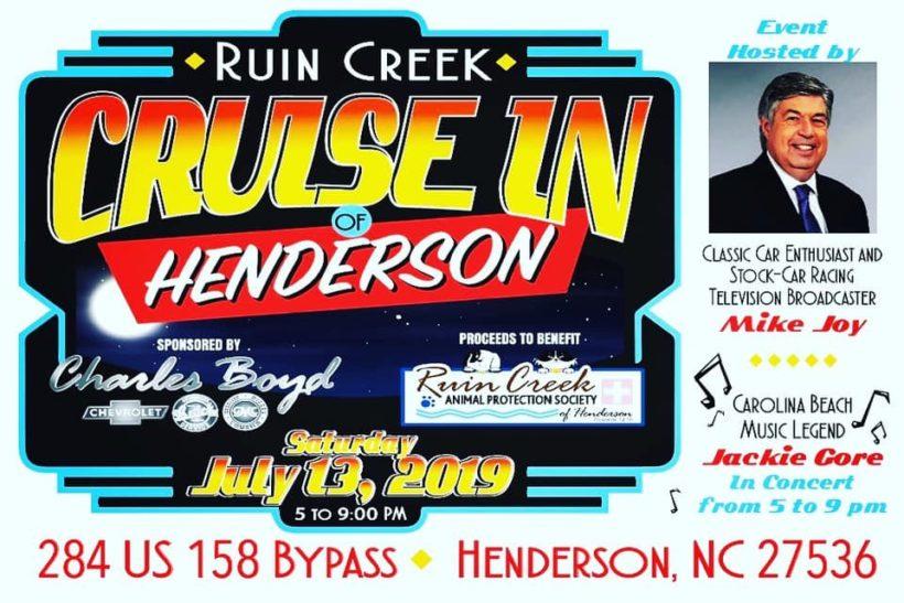 Ruin Creek Classic Car Cruise-In